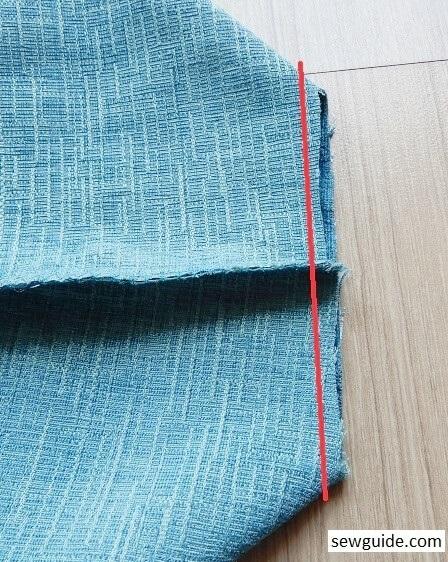 Coser una cubierta de máquina de coser