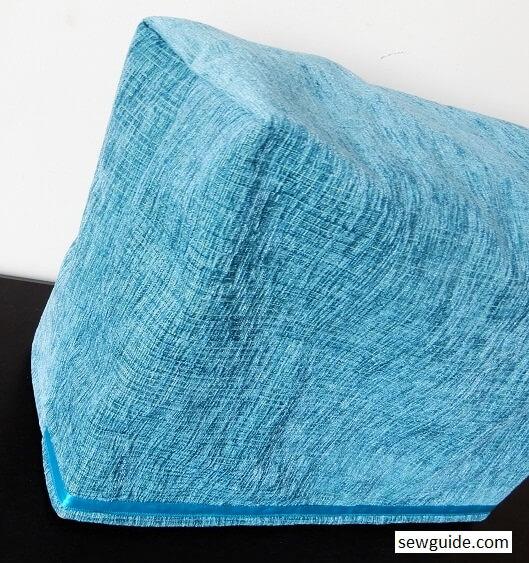 como hacer tapa para maquina de coser