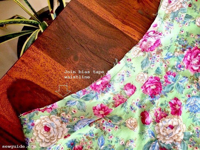 coser una falda fácil