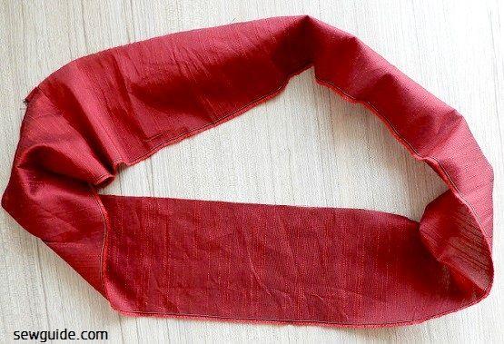 Tutorial de costura de falda larga acampanada