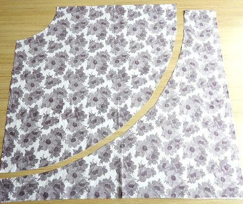 coser una falda de aline