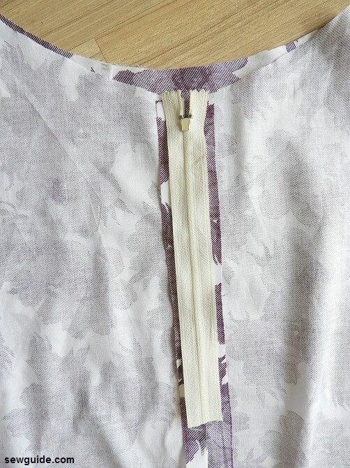 tutorial de costura de falda en línea