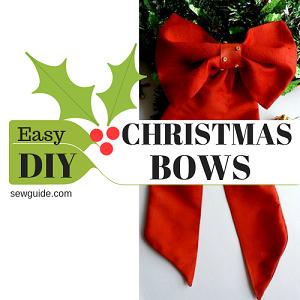 corbata de lazo de navidad