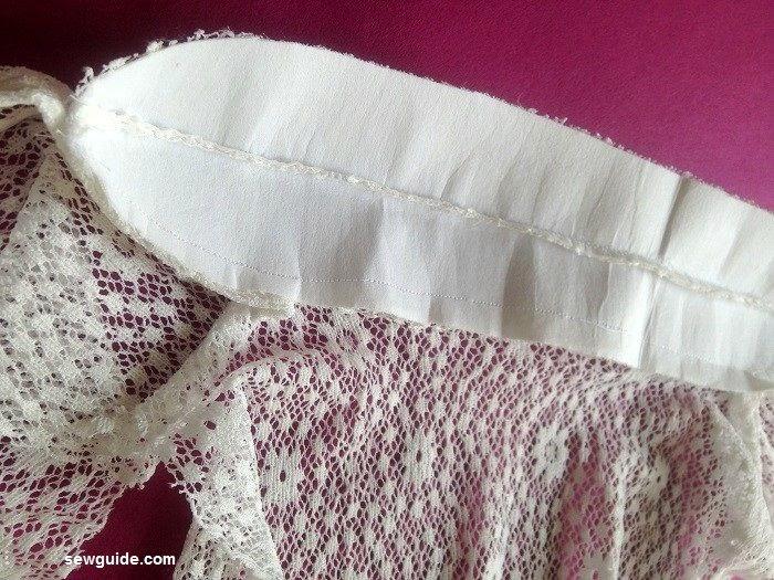 como coser un chaleco