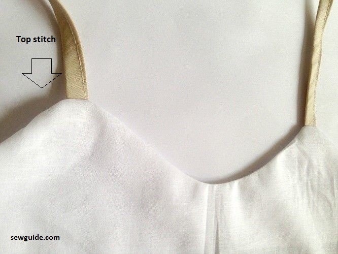 coser un slip de lencería
