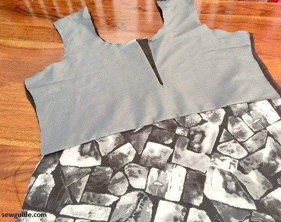 un vestido de linea