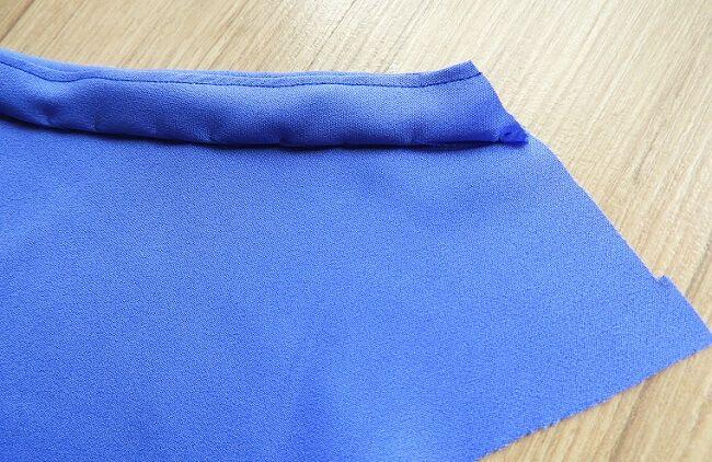 un patrón de costura de línea dres