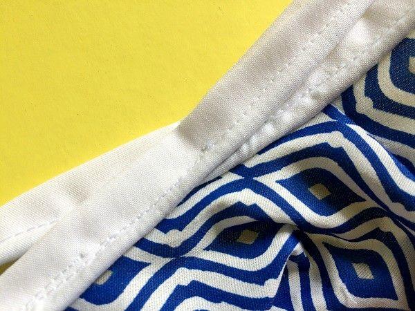 patrón de costura vestido aline