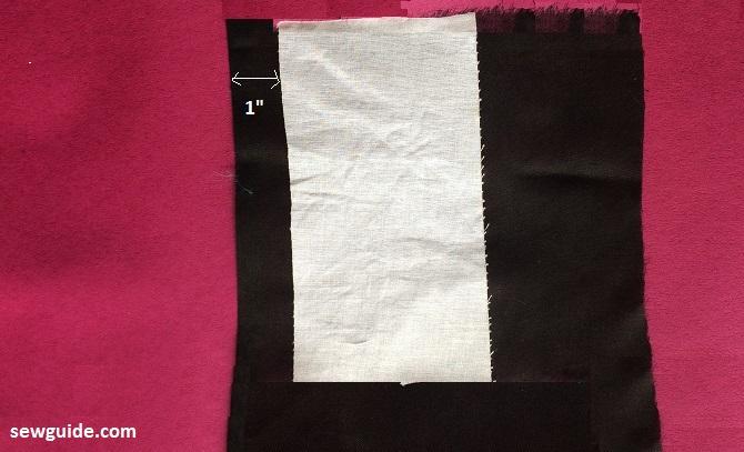 un patrón de costura vestido de línea