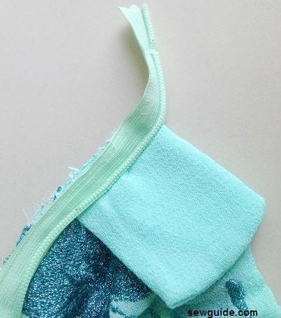 patrón de costura de falda de cola de sirena gratis