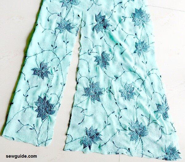 falda de cola de pez