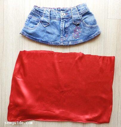 coser falda gitana