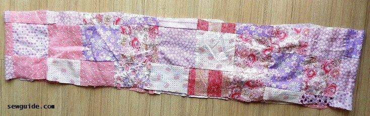 tutorial de costura de falda gitana