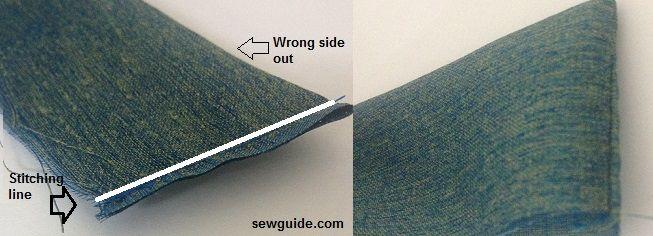 coser una falda de abrigo instrucciones