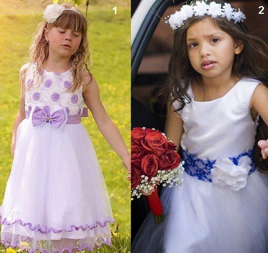 vestido de diseño para niñas