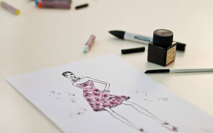 boceto de moda