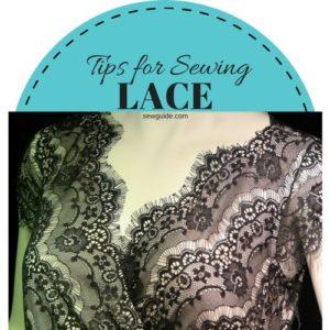 como coser encajes