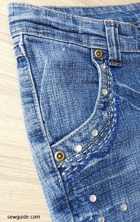 bordado de jeans