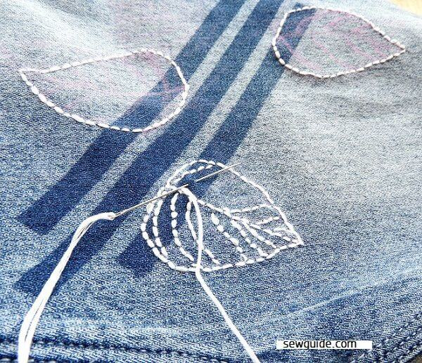 jeans bordados diy
