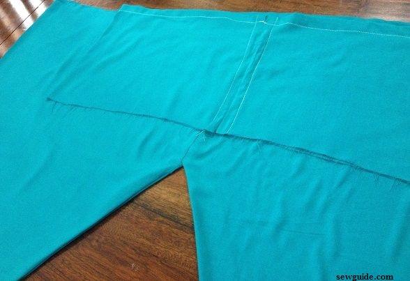 tutorial para coser pantalones para churidhar