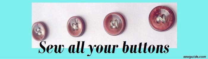botón de coser