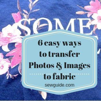 transferir fotos a la tela