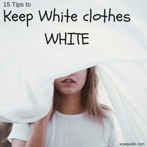 como lavar la ropa blanca