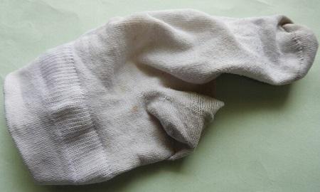 limpieza de tela blanca