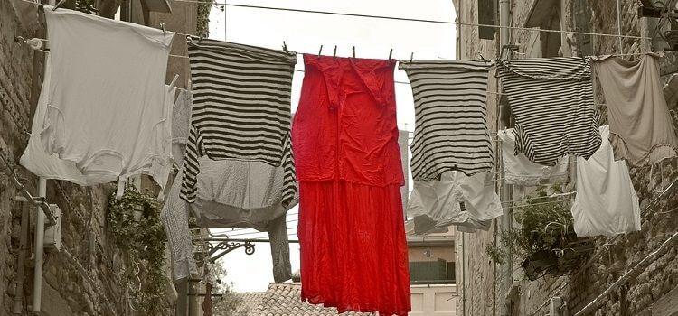 como usar un vestido rojo