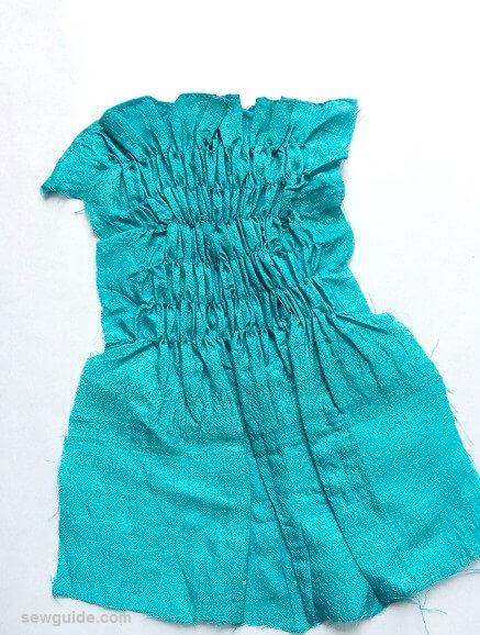 coser con hilo elástico
