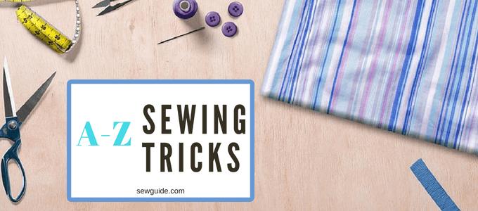 trucos y trucos de costura