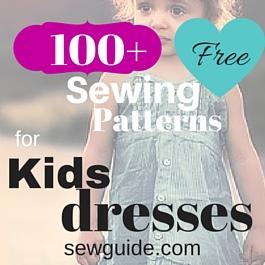 patrones de costura gratis para vestidos de niñas