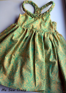 bonito vestido para coser