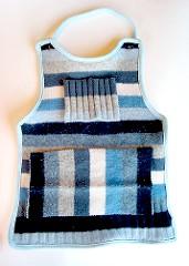 delantal de suéter para niños