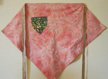 delantal de bandana