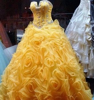vestidos estilo dama