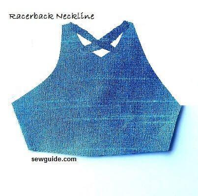formas de cuello para vestidos