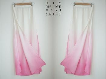 falda maxy diy