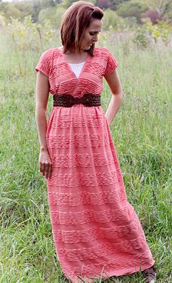 tutorial de vestido maxi