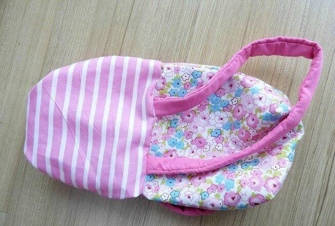 tutorial de costura de monedero para niñas pequeñas