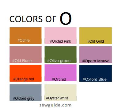 colores en el diseño de moda