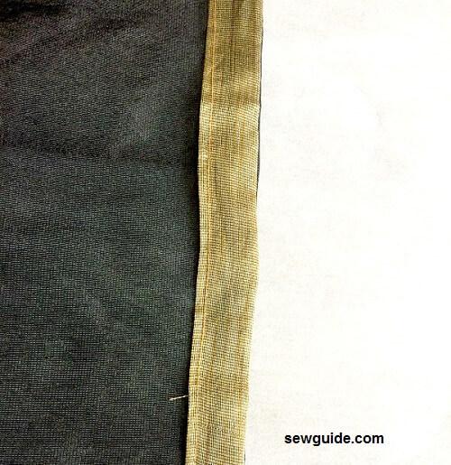 como coser pantalones de danza del vientre