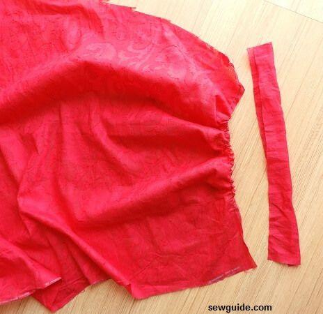 tutorial de costura de pantalones de danza del vientre