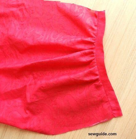 patrón de costura de pantalones de danza del vientre y turtorial