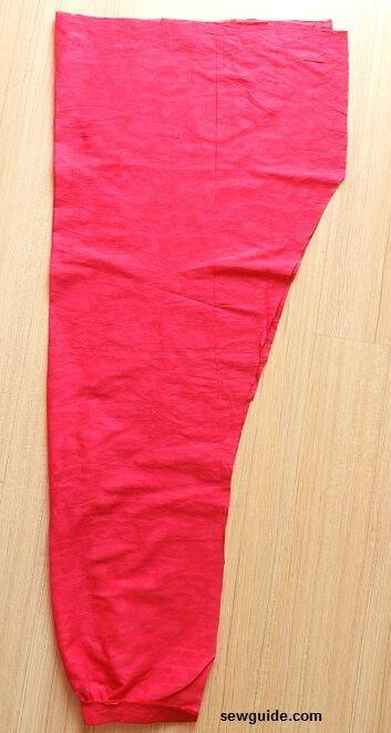 patrón de pantalón de danza del vientre