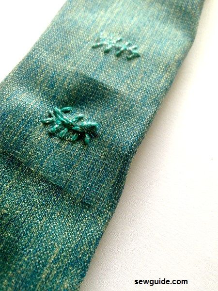 patrón de pantalones de salón con cordón