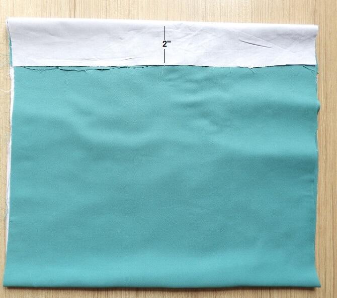 bolso de compras de bricolaje con fondo plano