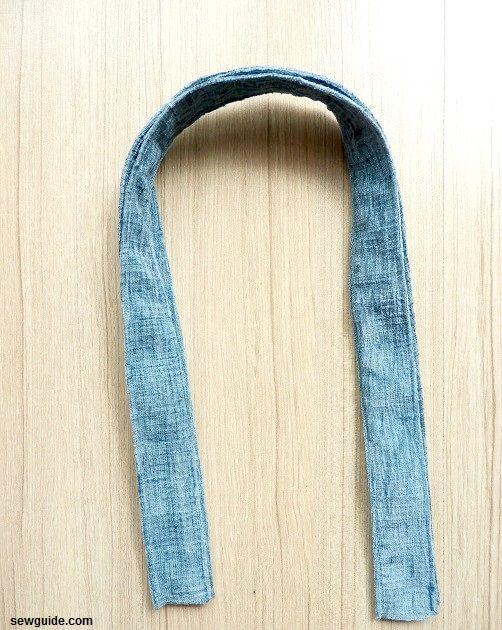 patrón de bolsa de compras de tela