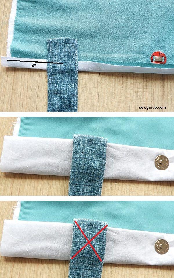 coser un patrón de bolsa de compras