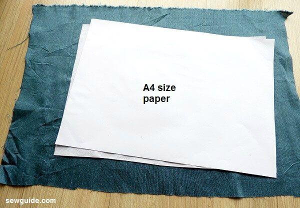 coser el patrón de la bolsa de mensajero